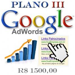 Google AdWords Plano III
