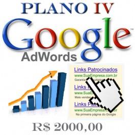Google AdWords Plano IV