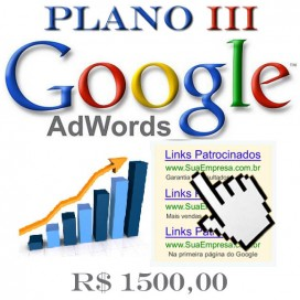 Anunciar no Google Plano III